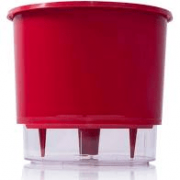 Vaso Autoirrigavel 04 Vermelho