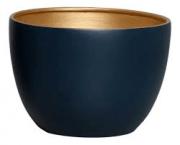 Vaso De Chão Azul e Dourado P Novel - 5739