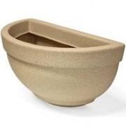 Vaso De Parede Texturizado 34 Areia