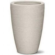 Vaso Grafiato Conico 65 Cimento