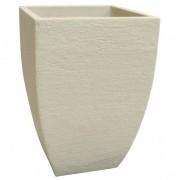 Vaso Quadrado Moderno 36 Cimento