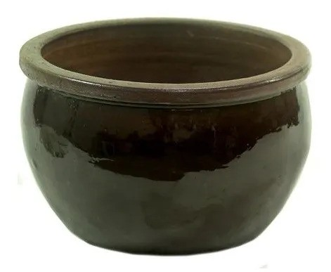 Vaso Vietnamita Bavaria Marrom - 47cm x24cm