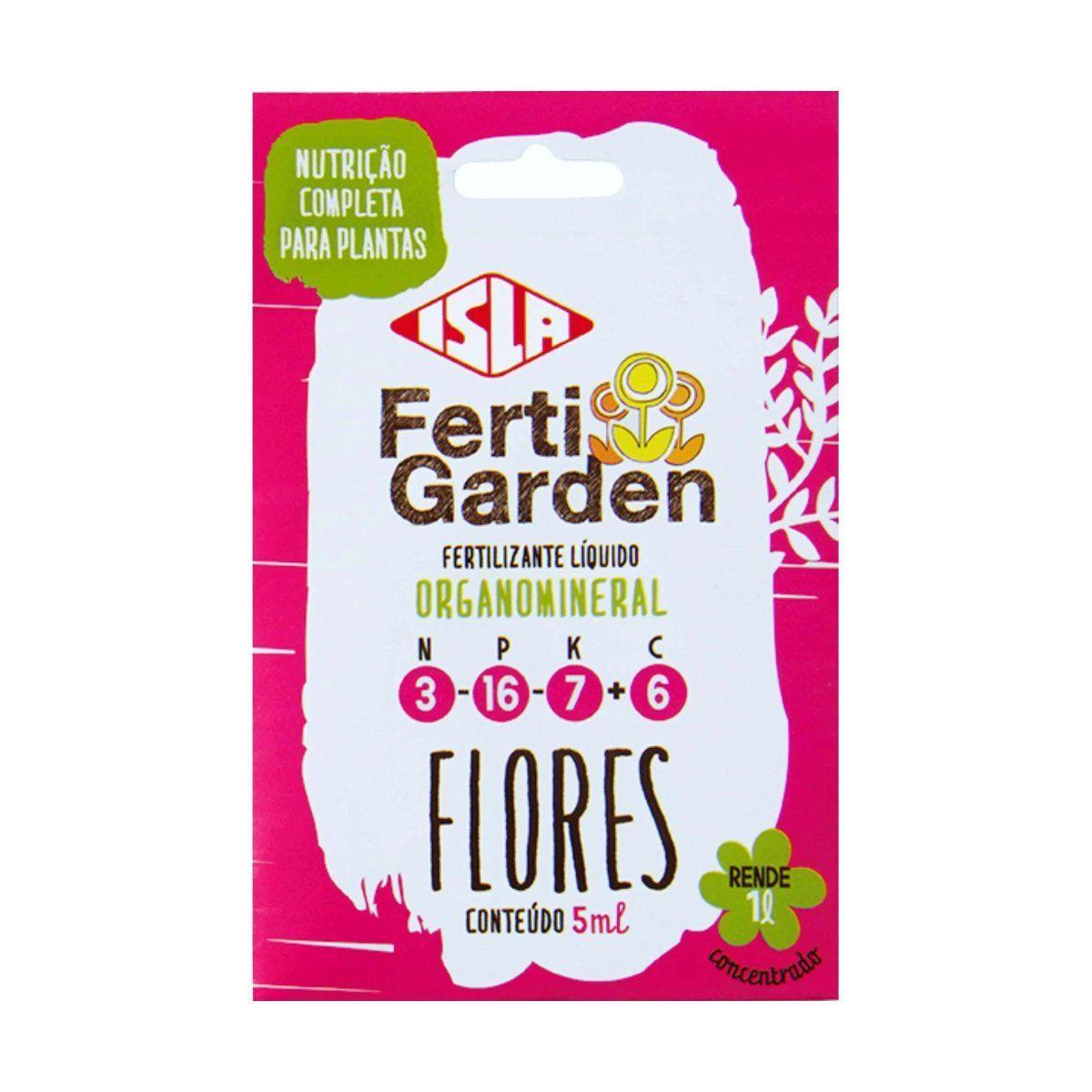 Adubo Fertigarden Flores 5 Ml