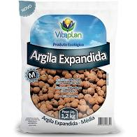 Argila Expandida Media 1,2 Kg Unica