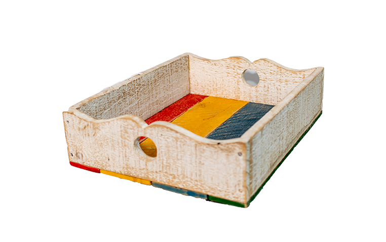 Bandeja G (Colorida) 30X25 - J062