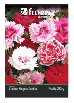 Cravina Da China Singela Sortida As 200Mg - Flor