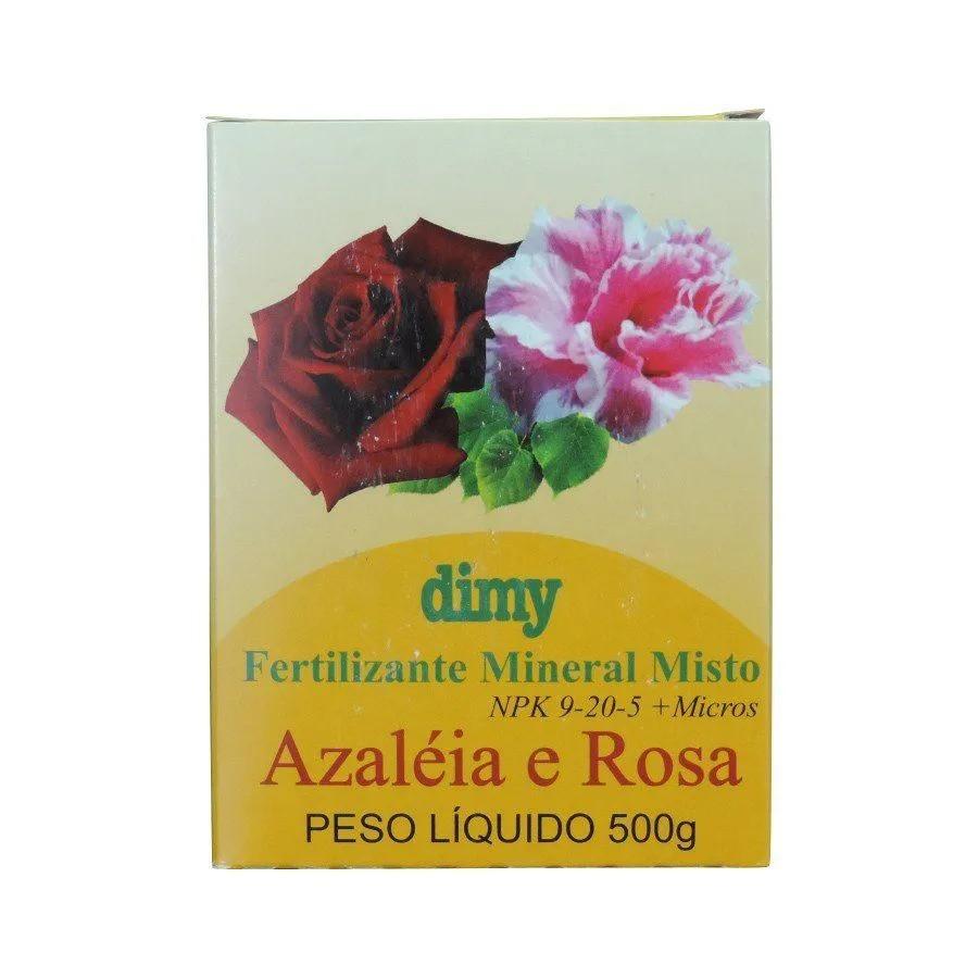 Fertilizante Mineral Misto Azaleia E Rosa  500G