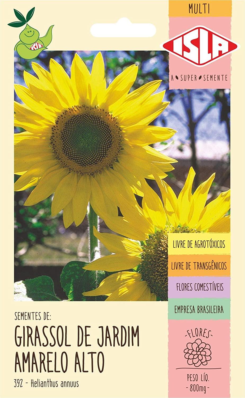 Girassol Zebulon De Jardim Amarelo Alto