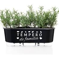 Jardineira Autoirrigavel Preto - Tempero De Familia