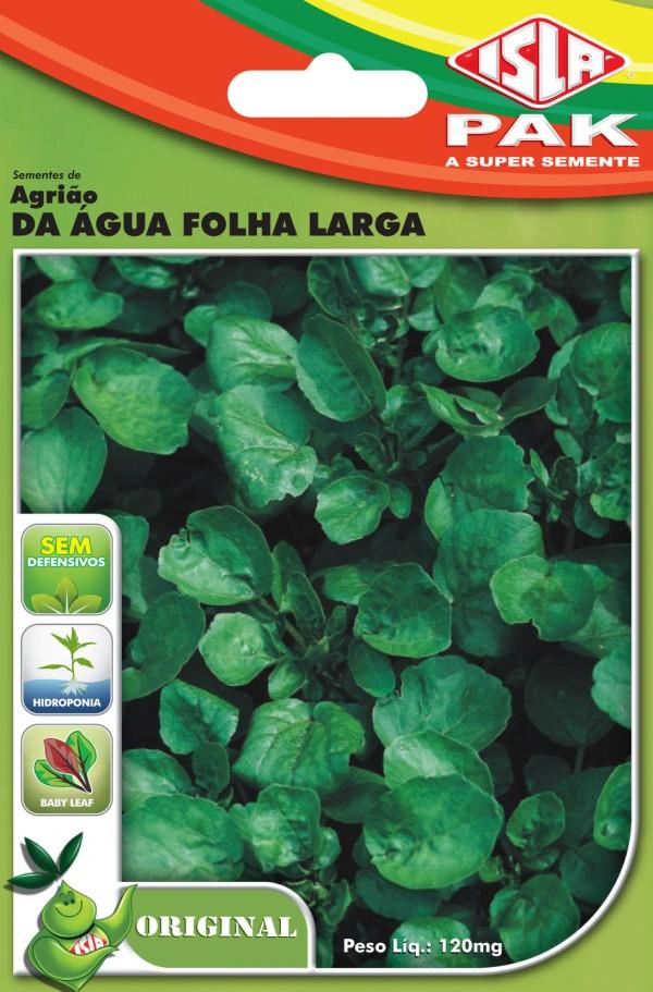 Original Agriao Da Agua Folha Larga