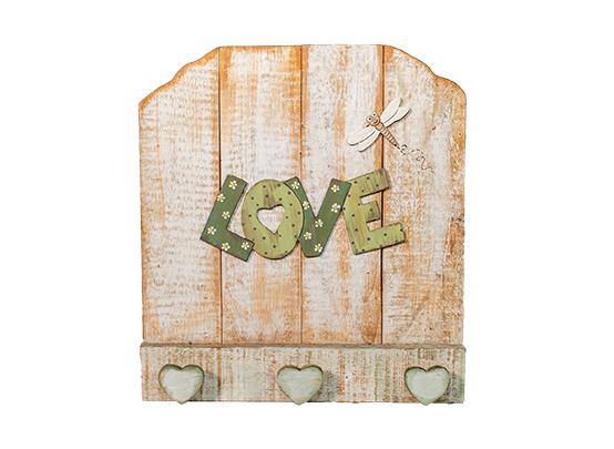 Placa Love Libélula - J-011