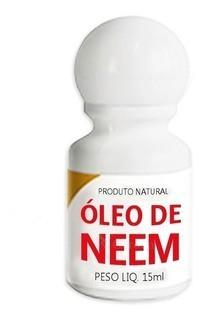 Produto Natural Oleo De Neem 15 Ml Unica