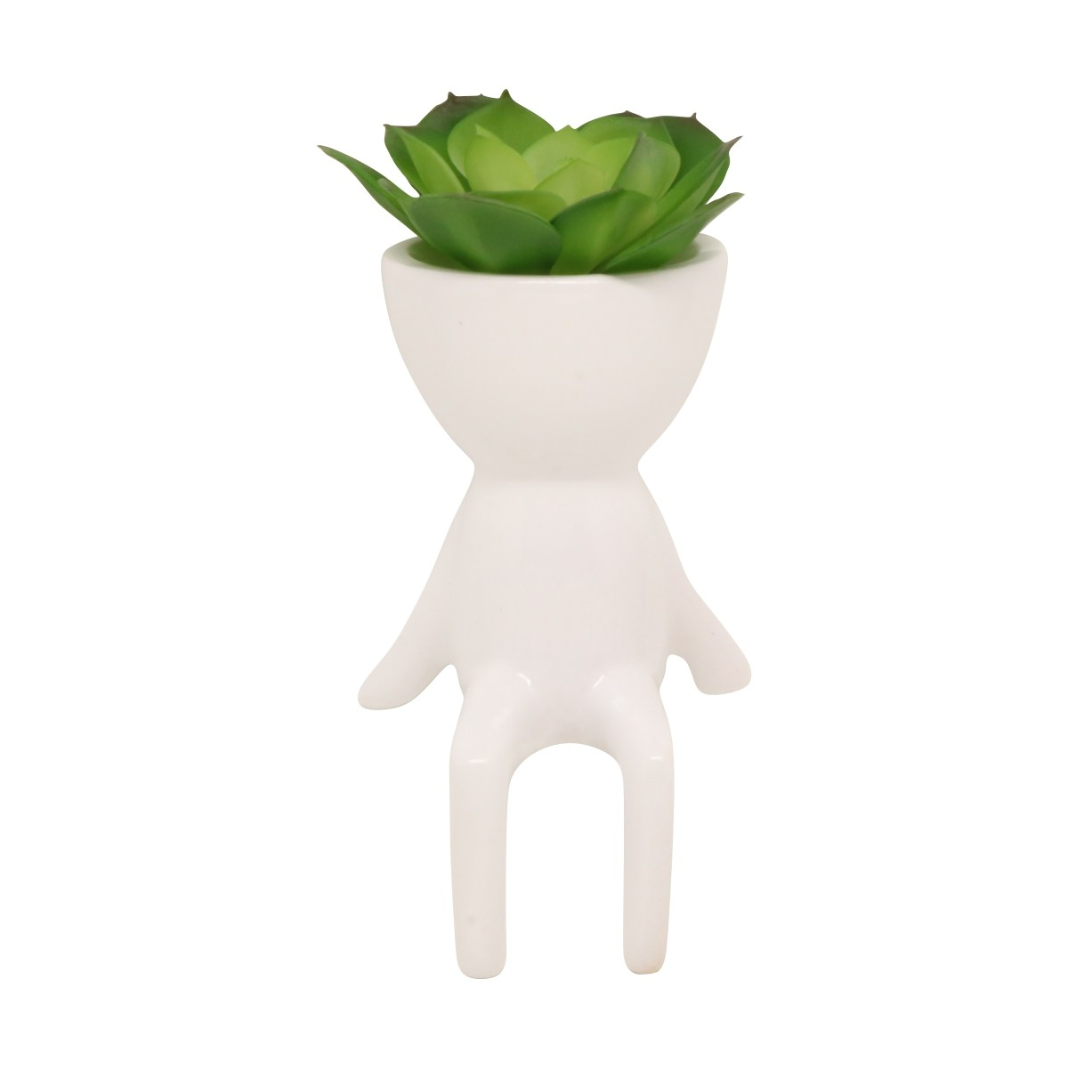 Robert Plant Branco Sentado Relax - 5797
