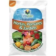 Substrato P/ Hortas, Pomares E Jardins 1,5 Kg Unica
