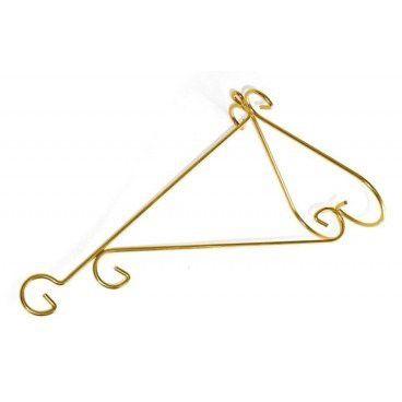 Suporte Luxo Medio Dourado