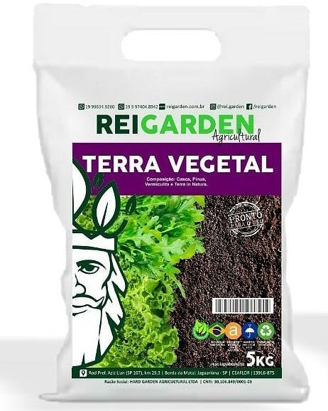Terra Vegetal 5Kg - Rei Garden
