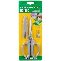 Ts-3154-2 Tesoura P/Flores 18,5Cm
