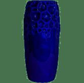Vaso  Alto Atlantis Azul Cobalto Premium
