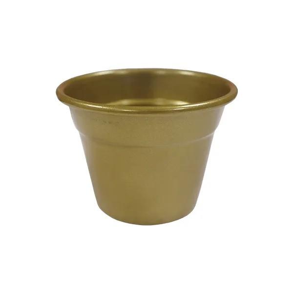 Vaso Alum Soleil Dourado N.6