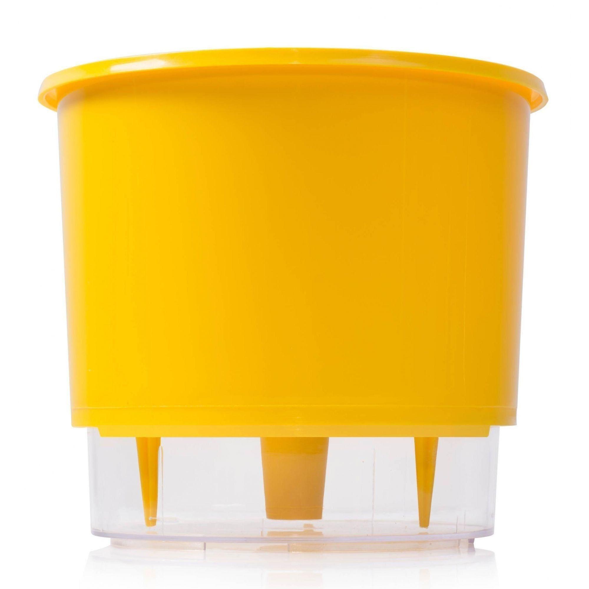 Vaso Autoirrigavel 02 Amarelo