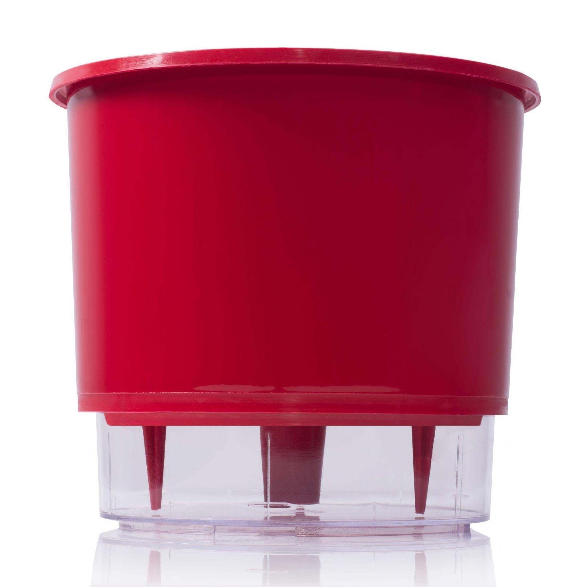 Vaso Autoirrigável 02 Vermelho