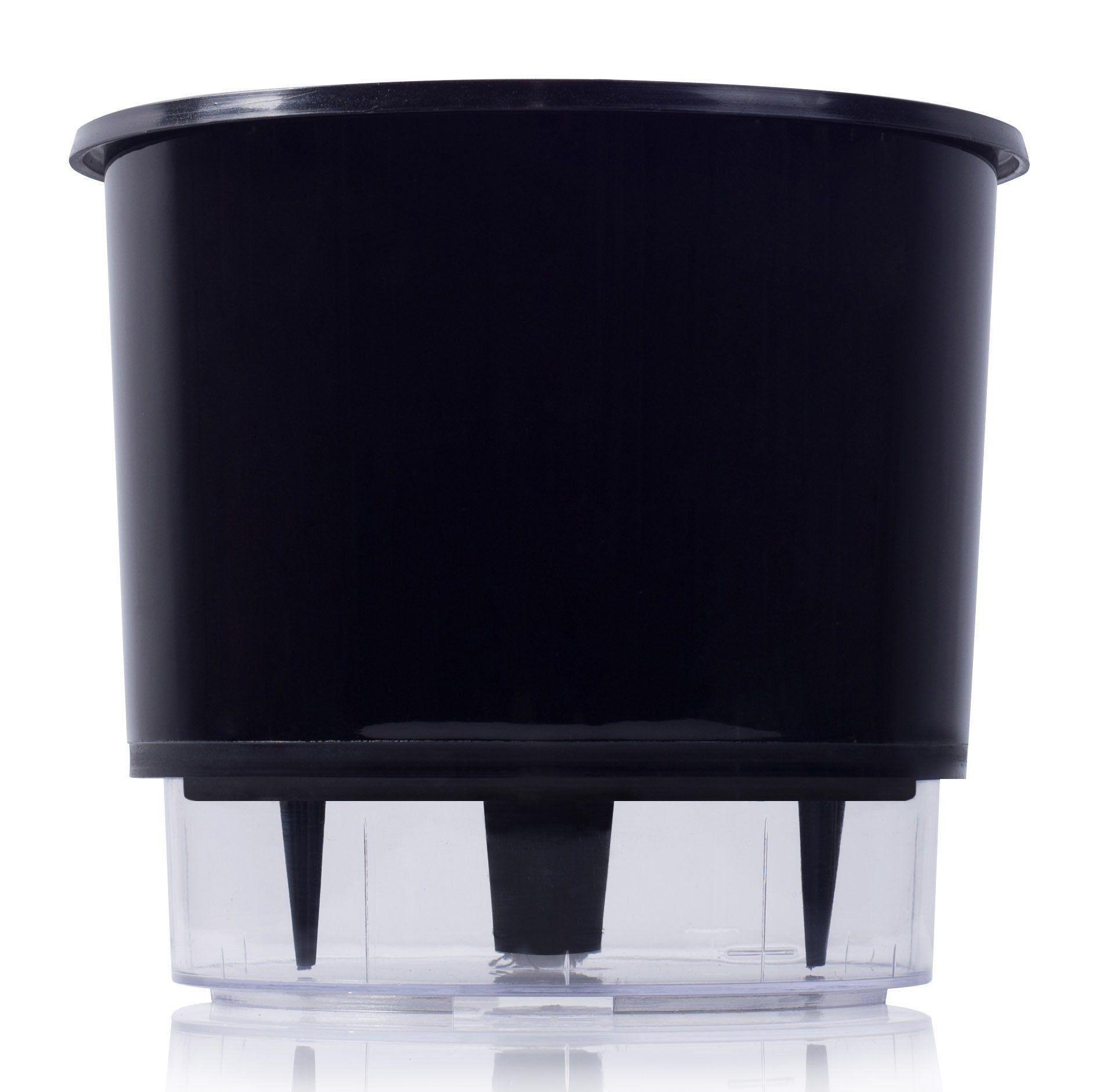 Vaso Autoirrigável 03 Preto