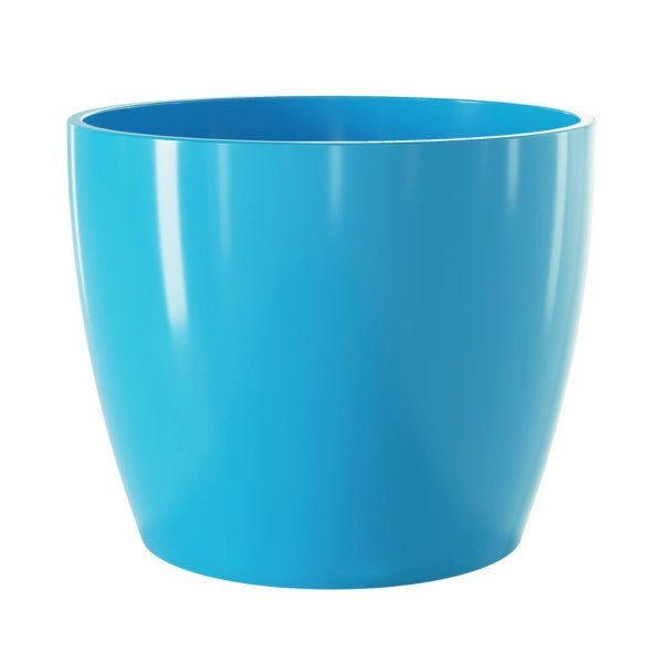 Vaso Cerâmico Munique Azul 11