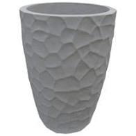 Vaso Conico Prisma 30 Marmore