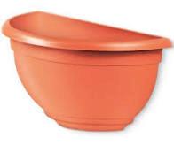 Vaso De Parede Médio Ceramica