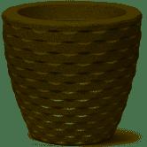 Vaso Elo Redondo 22 Cimento