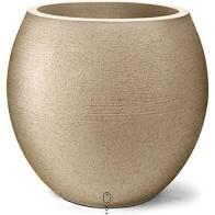 Vaso Grafiato Oval 42 Areia