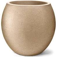 Vaso Grafiato Oval 58 Areia