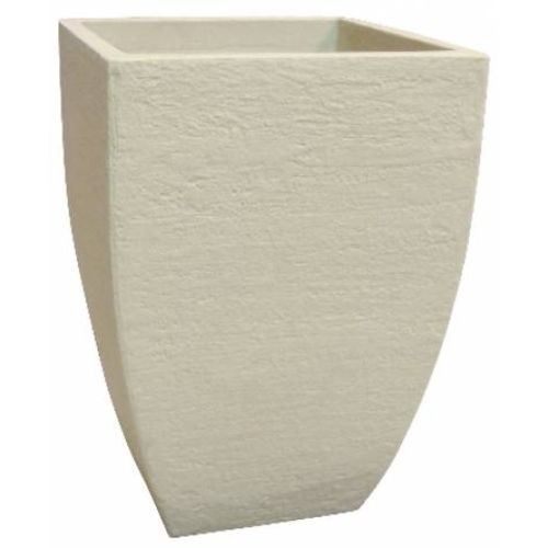 Vaso Quadrado Moderno 48 Cimento