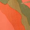 Estampada Mista Verde/ Laranja