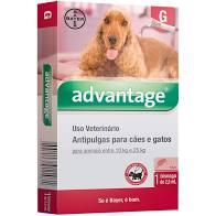 ADVANTAGE CÃES E GATOS ENTRE 10 E 25Kg