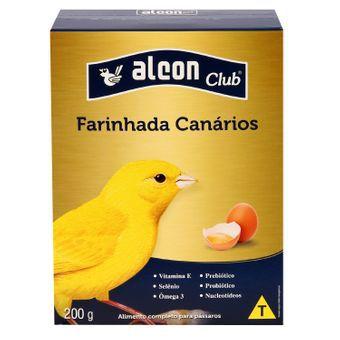 ALCON CLUB FARINHADA COM OVOS PARA CANÁRIOS