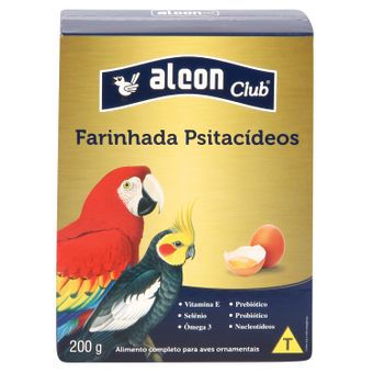 ALCON CLUB FARINHADA COM OVOS PARA PSITACÍDEOS