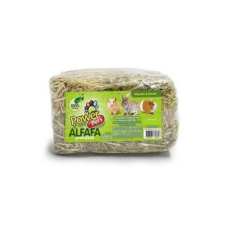 ALFAFA POWERPETS PRENSADA 500 g