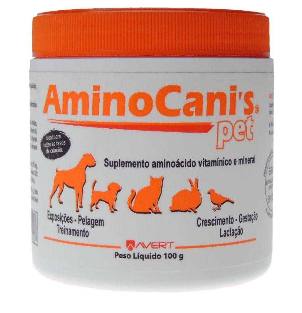 AMINOCANIS PET 60 CP