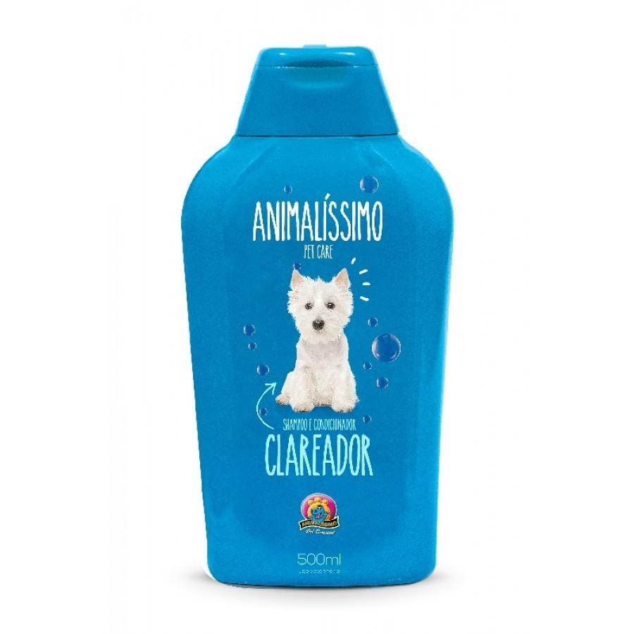 ANIMALISSIMO SHAMPOO CLAREADOR 500 ML