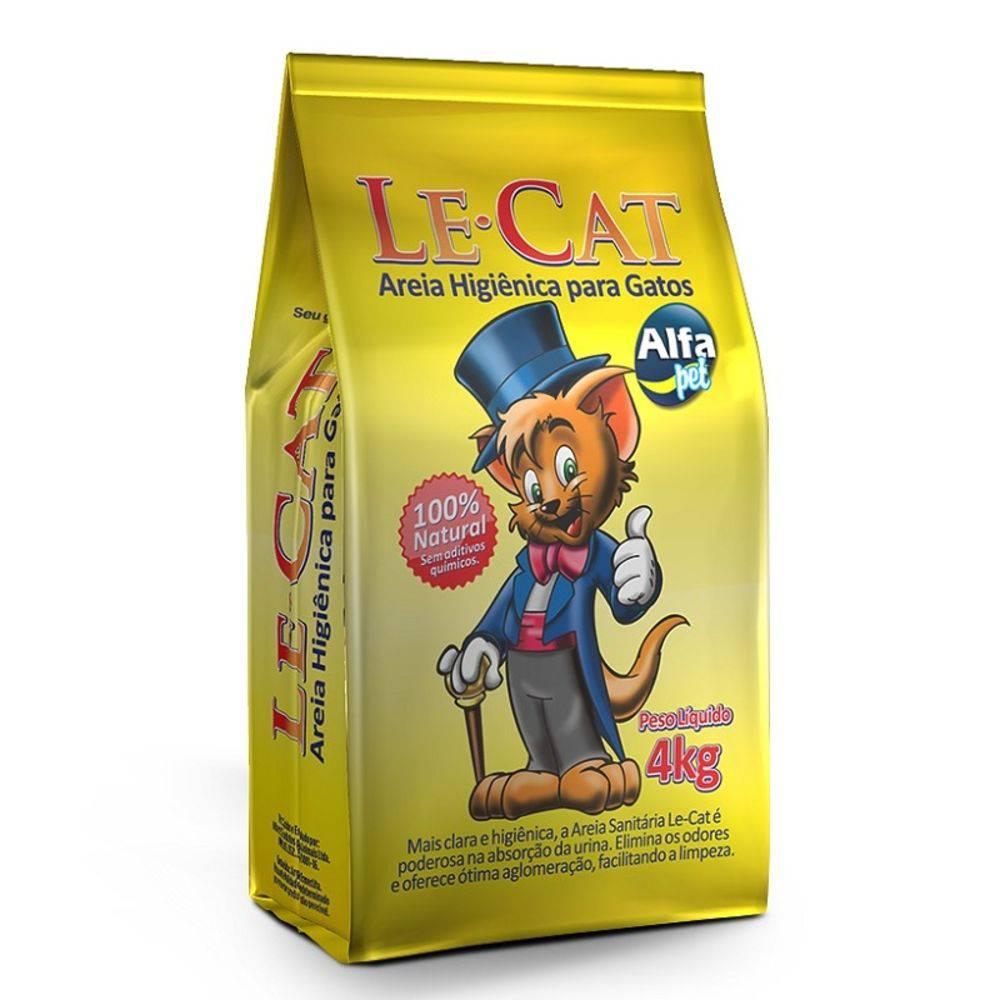 LE CAT AREIA HIGIÊNICA 4Kg
