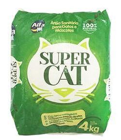 SUPER CAT AREIA SANITÁRIA 4 Kg