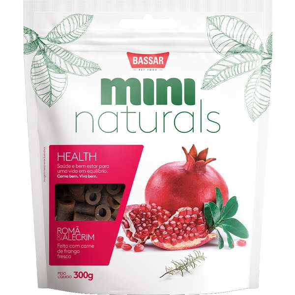 BASSAR MINI NATURALS HEALTH ROMA E ALECRIM 300g