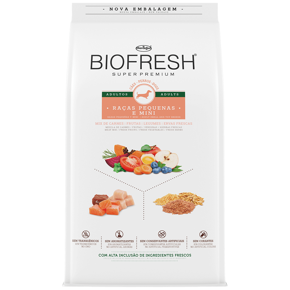 BIOFRESH ADULTO FRANGO MINI PEQUENO