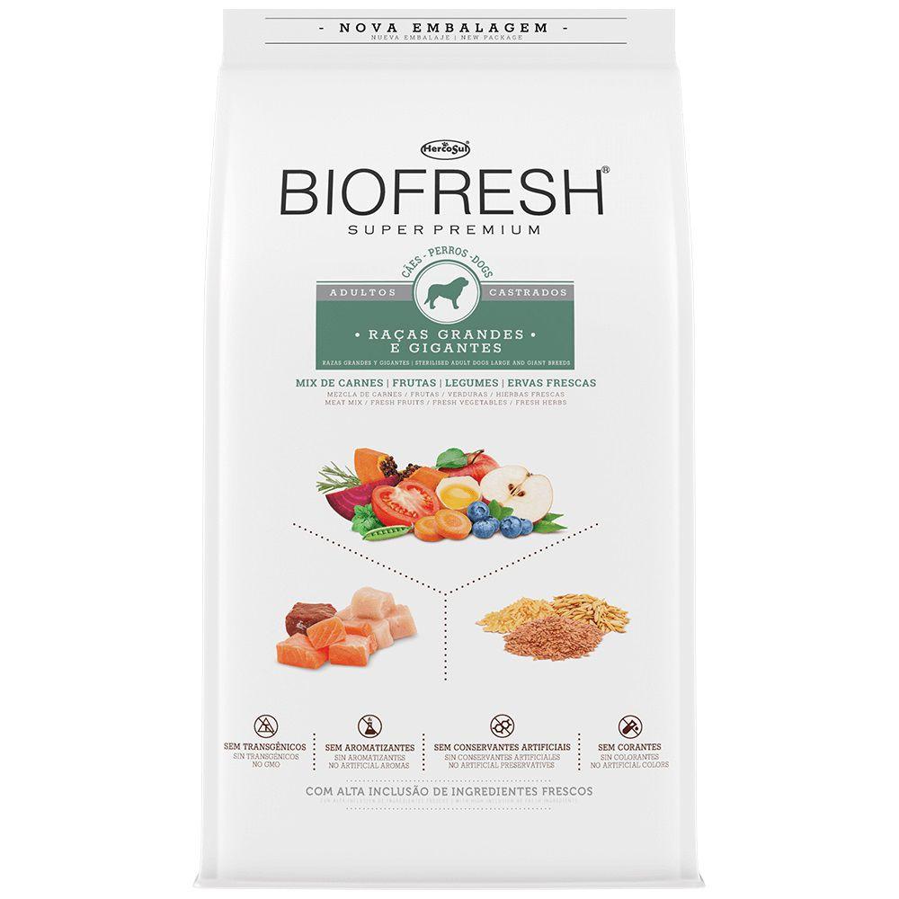 BIOFRESH CASTRADO GRANDES 15 Kg