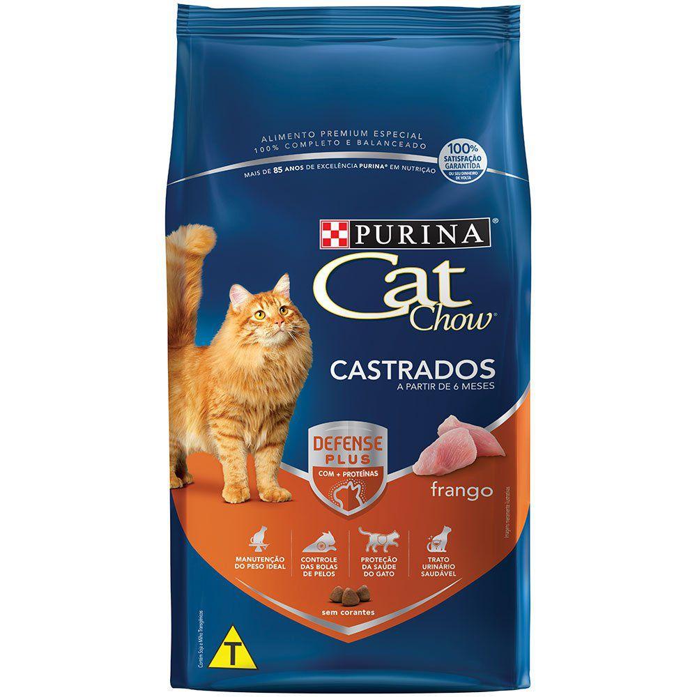 CAT CHOW CASTRADOS SEM CORANTE