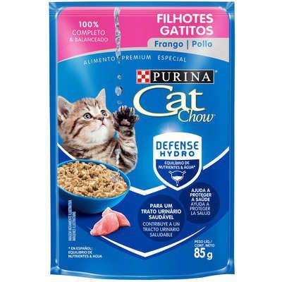 CAT CHOW SACHÊ FILHOTES FRANGO 85 g