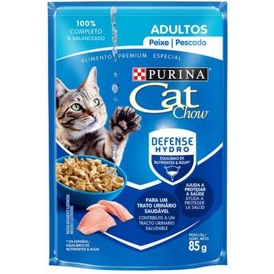 CAT CHOW SACHÊ PEIXE 85 g