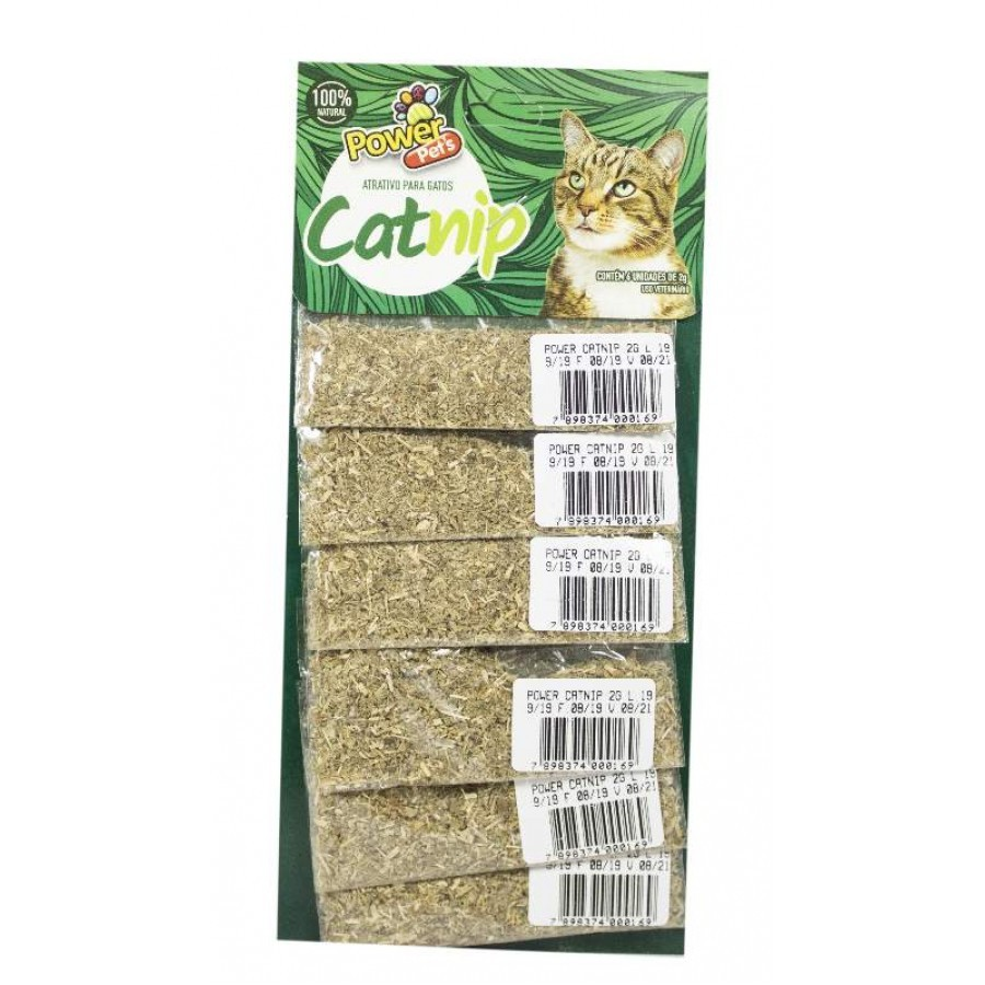 CAT NIP POWER PETS 2 g