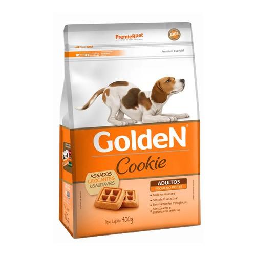 COOKIE GOLDEN CÃES ADULTOS PEQUENO PORTE 400 g